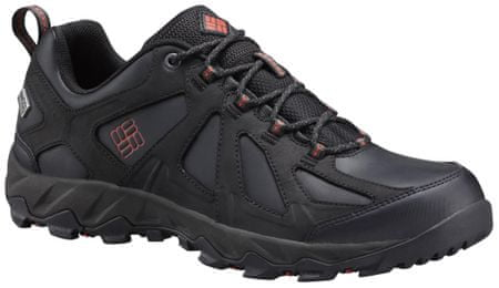 COLUMBIA Peakfreak XCRSN II Low Leather Outdry Black Super Sonic 44.5