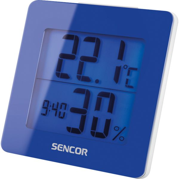 Sencor Teploměr s hodinami SWS 1500 BU