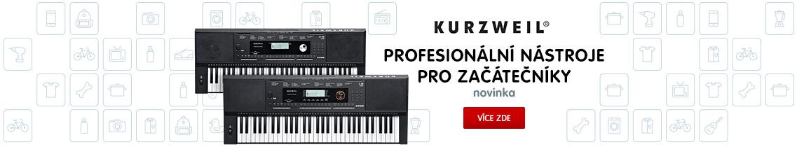 Klávesy Kurzweil - profesionální nástroje pro začátečníky