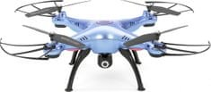 Syma X8HW 4 drón RTF kamerával, WiFi, RC set 2,4GHz, kék outlet