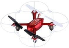 Syma Micro kvadrokoptéra X11C 4, 152 mm, RTF, s kamerou, RC set 2,4GHz, červená