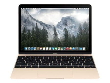 Apple MacBook 12 Retina/DC i5/8GB/512GB SSD/Gold - SLO KB