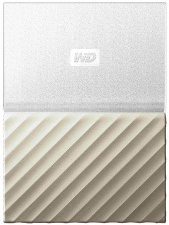 WD zunanji trdi disk My Passport Ultra 2TB, bel/zlat USB 3.0