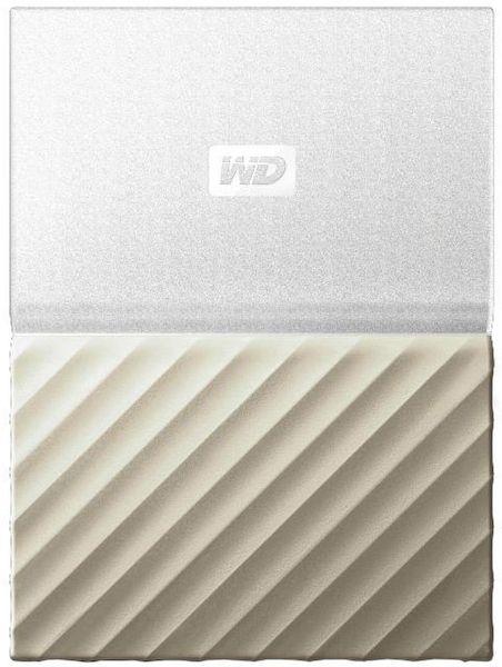 WD My Passport Ultra Metal 3TB, bílá/zlatá (WDBFKT0030BGD-WESN)