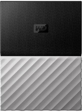 WD My Passport Ultra Metal 1TB, čierna/šedá (WDBTLG0010BGY-WESN)