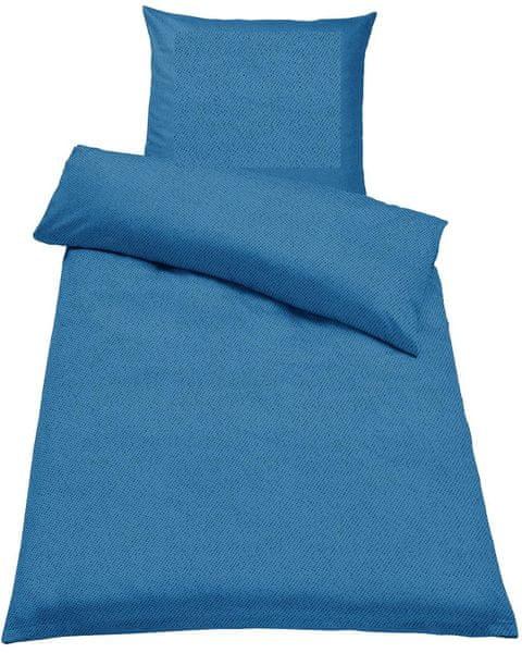 Jahu Ložní povlečení Guru Uni modrá