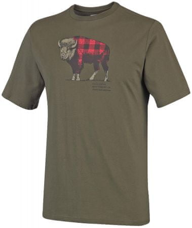 COLUMBIA CSC Check The Buffalo II Short Sleeve Peatmoss L