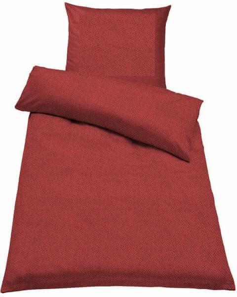 Jahu Ložní povlečení Guru Uni červená