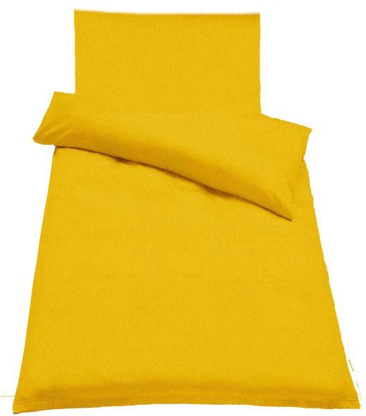 Jahu Ložní povlečení Guru Uni žlutá