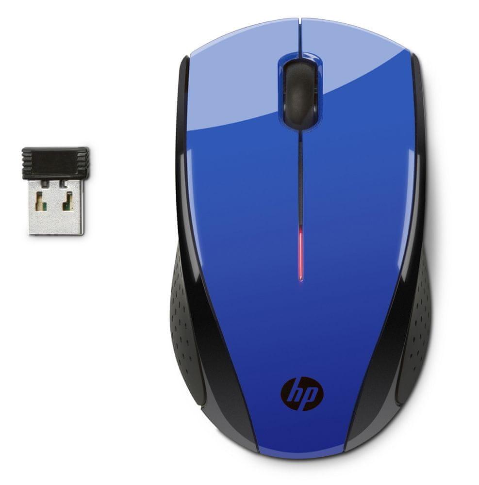 HP X3000 bezdrátová myš, modrá (N4G63AA)