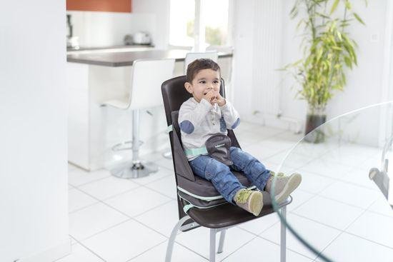 Babymoov Up&Go prenosni jedilni stol Smokey