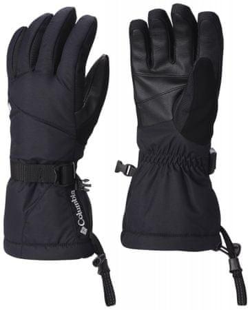 Columbia ženske rokavice Whirlibird, črne, S