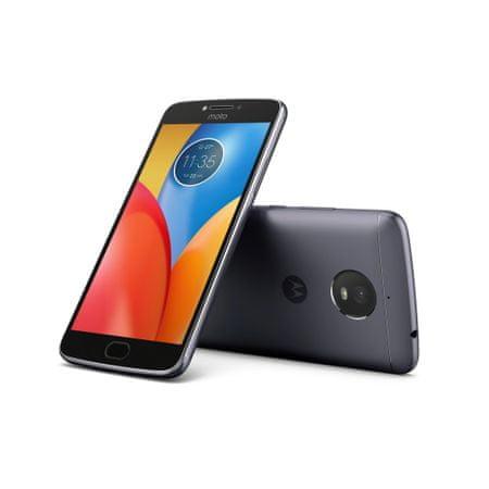 MOTOROLA smartfon Moto E Plus, Dual SIM, Dark Grey
