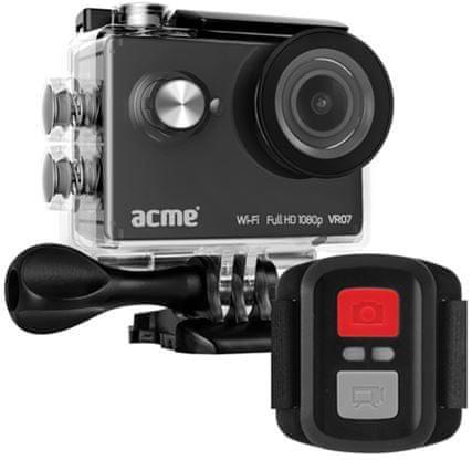 Acme športna kamera VR07 Full HD z Wi-Fi in daljincem