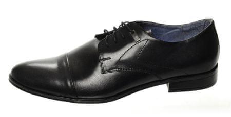 PAOLO GIANNI férfi cipő 43 fekete