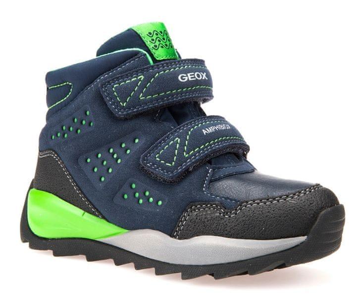 Geox chlapecké zimní boty Orizont 33 modrá