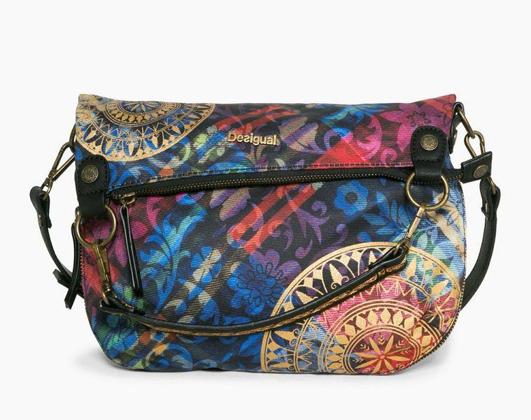 Desigual vícebarevná kabelka Folded Transflores