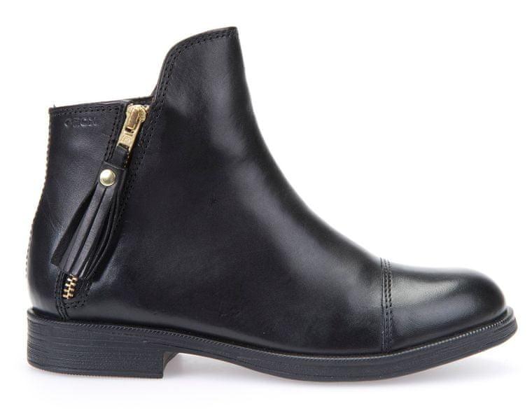 Geox dívčí kotníčková obuv Agata 31 černá