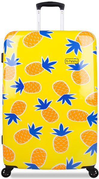 "REAbags Cestovní kufr B.HPPY Home Sweet Pineapple ""L"""