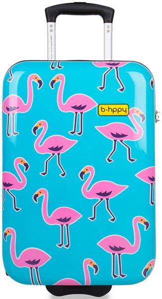 """REAbags Cestovní kufr B.HPPY Go Flamingo """"S"""""""