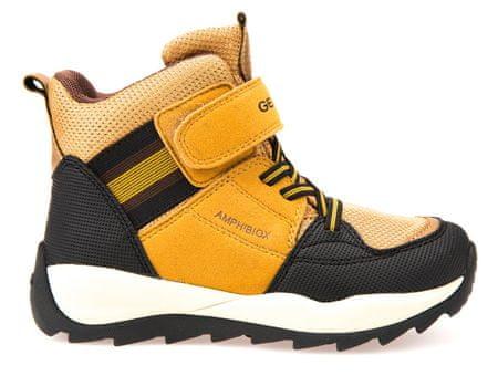 Geox chlapecké zimní boty Orizont 34 žltá