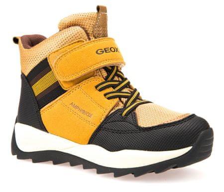 Geox chlapecké zimní boty Orizont 37 žltá