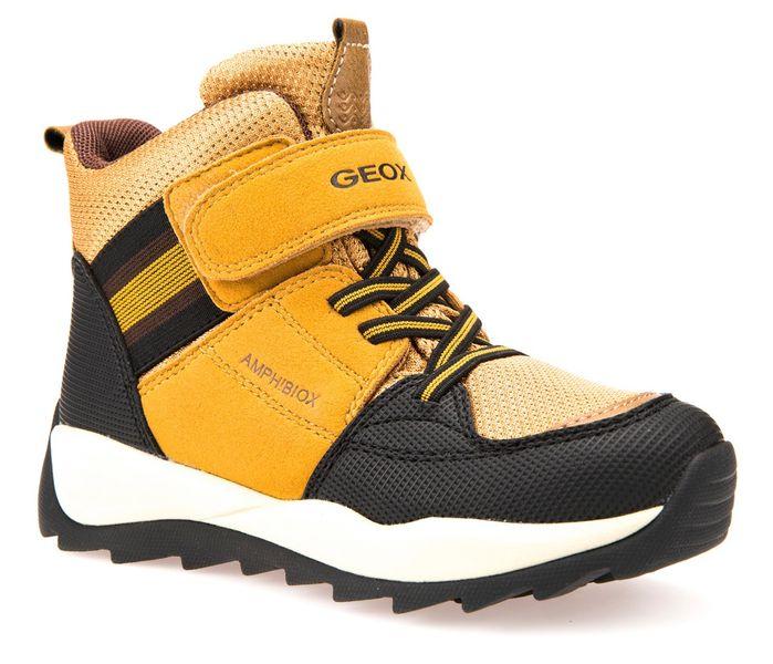 Geox chlapecké zimní boty Orizont 32 žlutá