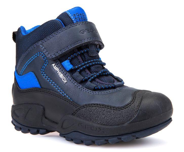 Geox chlapecké zimní boty New Savage 32 modrá