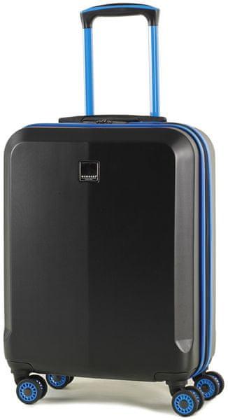 Member's Cestovní kufr TR-0150/3-S černá/modrá