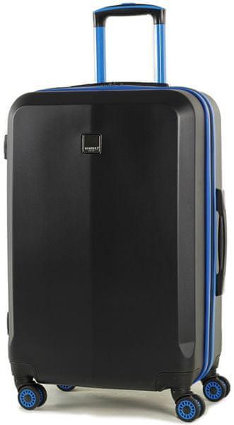 Member's Cestovní kufr TR-0150/3-M černá/modrá