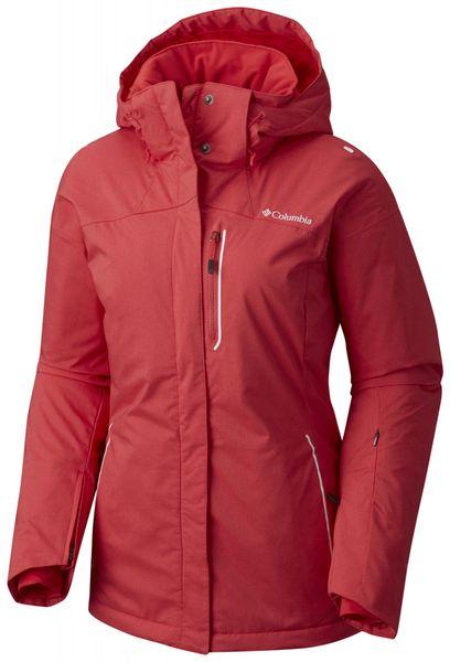 Columbia Lost Peak Jacket Red Camellia XS