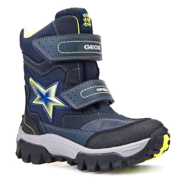 Geox chlapecké zimní boty LT Himalaya 27 modrá