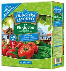 Bohatá zahrada Jihočeské hnojivo na plodovú zeleninu 2 kg + 30 % zdarma (23300076)