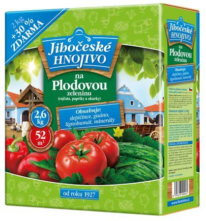 Bohatá zahrada - Hnojivo na plodovou zeleninu