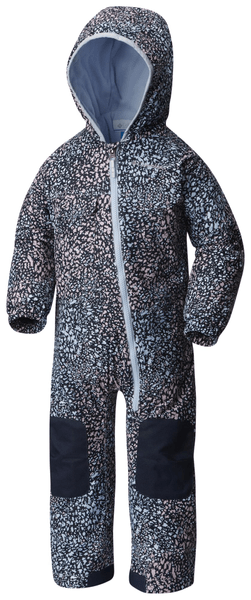 Columbia Hot-Tot Suit Faded Sky Snow Splatter 12/18