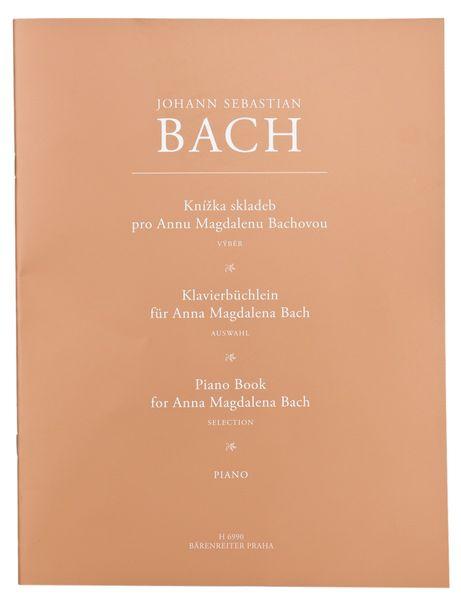 KN Knížka skladeb pro Annu Magdalenu Bachovou - výběr Škola hry na klavír
