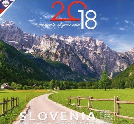 Stenski koledar Slovenija 2018