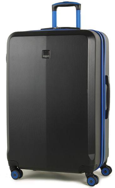 Member's Cestovní kufr TR-0150/3-L černá/modrá