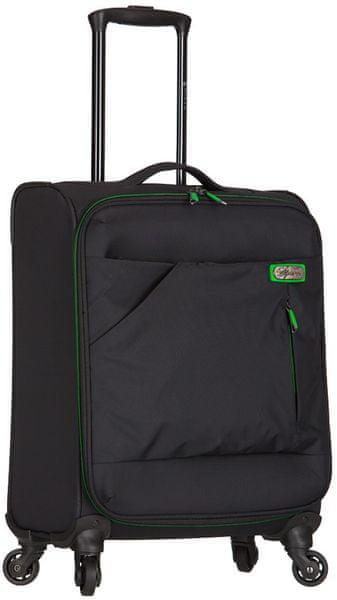 """AZURE Kabinové zavazadlo Spirit """"S"""" černá/zelená"""