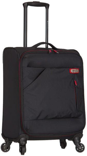 """AZURE Kabinové zavazadlo Spirit """"S"""" černá/červená"""