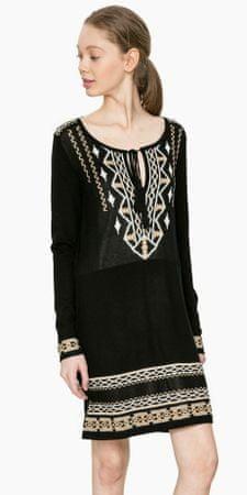 Desigual dámské šaty Neltu M čierna  8d31cd50a3c