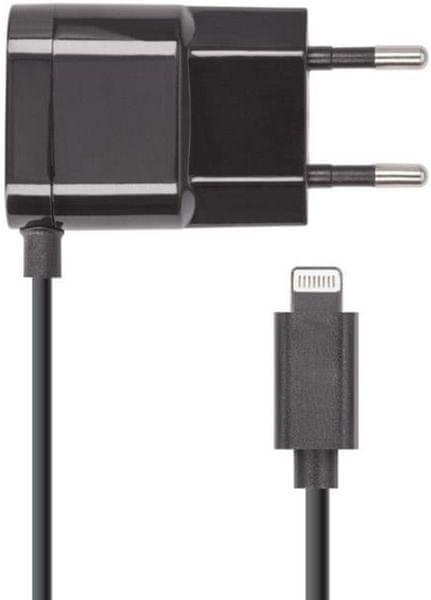 Forever Cestovní nabíječka Forever (Apple Iphone 5), 1 000 mAh, černá