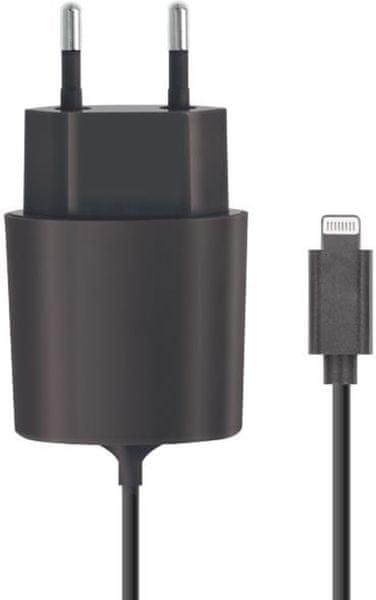 Forever Cestovní nabíječka Forever (Apple Iphone 5), 2 100 mAh, černá