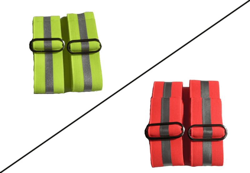 ZÁHOŘÍ Rudel Reflexní pásky na ruce s refl. proužkem - Oranžová