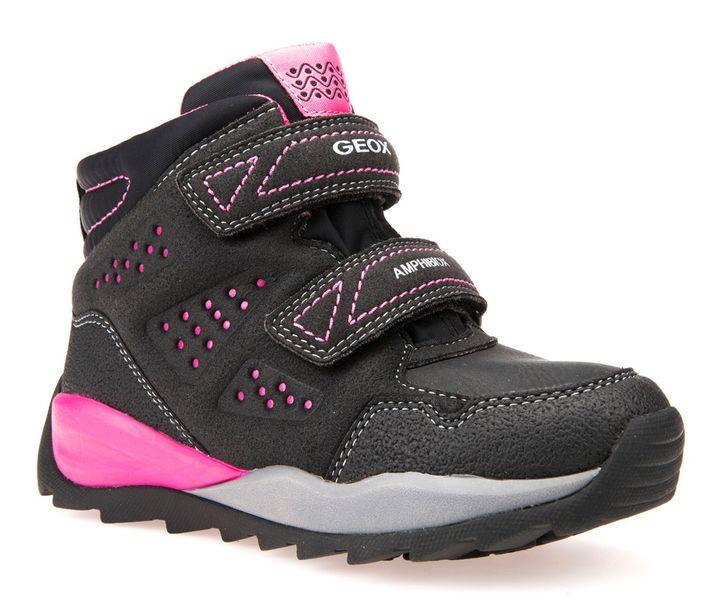 Geox dívčí zimní boty Orizont 27 černá