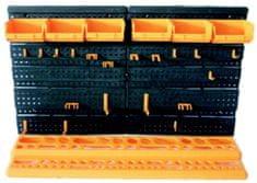ArtPlast Nástěnná sada s držákem na nářadí a boxy malá, 645x385 mm