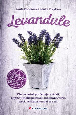 Ponešová Anita, Tréglová Lenka,: Levandule - Vše, co nutně potřebujete vědět...