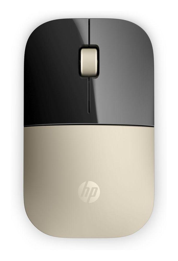 HP Z3700 bezdrátová myš, zlatá (X7Q43AA)