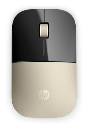 HP Z3700 bezdrôtová myš, zlatá (X7Q43AA)