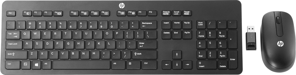 HP Slim Wireless Keyboard and Mouse T6L04AA#AKB